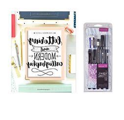 Lettering kit : Tombow Lettering Set Marker & Lettering and