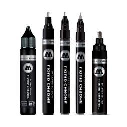 MOLOTOW LIQUID CHROME 1mm 2mm 4mm 5mm or 30mL Refill Graffit