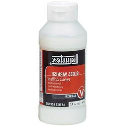 Liquitex Gloss Acrylic Varnish-8 Ounces