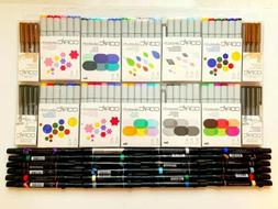 LOT OF 100 COPIC SKETCH ART MARKERS, & PRISMACOLOR MARKERS *