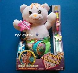 Magic Lavender Doodle Bear DREW Glow-In-The-Dark Plush Toy D