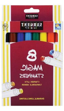 Sargent Art 22-1505 8-Count Magic Stamper Markers