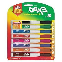 Expo Magnetic Dry Erase Marker Fine Tip Mix Colors Durable S