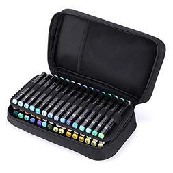 BTSKY Art Marker Carrying Case Lipstick Organizer-60 Slots C