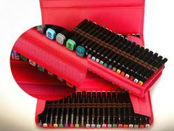 Marker Case Lipstick Organizer 120 Slot For Copic Marker Spe