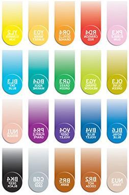 Chameleon Marker Ink Refill Kits Set of 21 Colors, Each 25 m