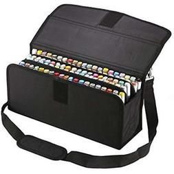 Marker Pen Case 122 Slots Holder Bag Lipstick Organization P