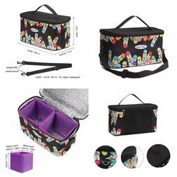Toprema New Marker Pen Case Holder for 120 Markers Organizer Multifunctional Bag