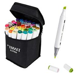 Marker Pens Dual Tips Permanent Art Markers for Kids Highlig