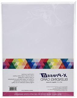 Copic Marker X-Press Blending Card 8.5-inch x 11-inch 25/Pkg