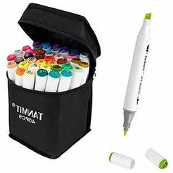 Tanmit Markers Marker Pens Dual Tips Permanent Art For Kids,