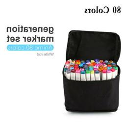 Markers Pen Case Holder Organizer Bag For Marker Pen 84 Slot