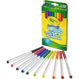 Crayola Markers Super Tips, Washable 10 CT