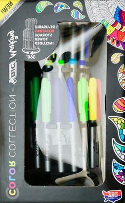 BIC Marking Color Collection Permanent Marker Tower, Assorte