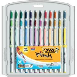 BIC Marking Fashion Permanent Marker, Ultra Fine Point, Asso