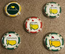 Masters/Titliest/Dilly Dilly/USA Golf Ball Marker Poker Chip