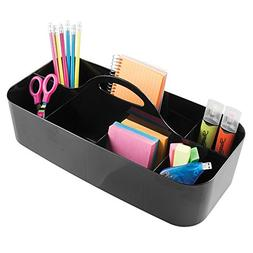 mDesign Office Organizer and Desk Storage Tote Caddy - Large