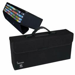 meeden 72 piece markers carrying case empty