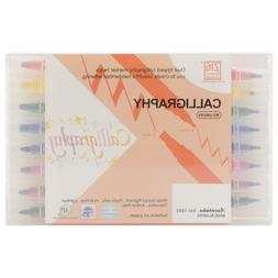 Zig Memory System Calligraphy Dual-Tip Markers 8/Pkg 120103