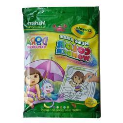 Crayola Mess Free Color Wonder Nickelodeon Dora The Explorer