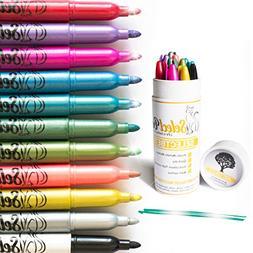 Metallic Markers Paint Pens for Rock Painting- Chrismass Dec