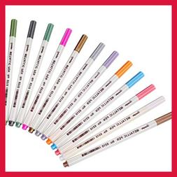 Metallic Markers Paints Pens Fine Point Marker For BLACK Pap