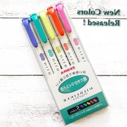 Zebra Mildliner Soft Color Highlighter Marker Pen Green Pack