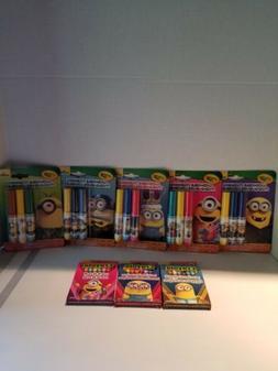 Crayola Minion Crayons & Washable Markers