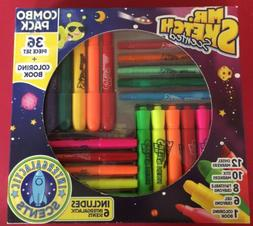 Mr. Sketch Scented 36 piece Marker Crayon Combo Pack Set and