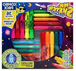 Mr Sketch Scented 37 Piece Set Combo Pack Markers Crayons Co