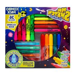 Mr. Sketch Scented Markers 36 Piece Set and Coloring Book Co