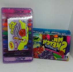 Mr. Sketch Scented Markers & Scented Gel Crayons 24 Markers