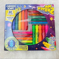 Mr. Sketch Scented Markers/ Crayons Combo Pack 36 with Color