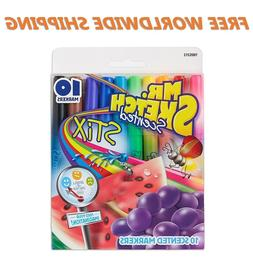 Mr. Sketch Scented Stix Markers 10 Ct FREE WORLDWIDE SHIPPIN
