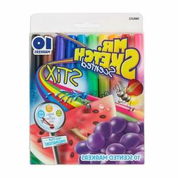 Mr. Sketch Scented Stix Markers, Fine Tip, Assorted Colors,