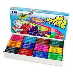 Mr. Sketch Washable Scented Markers, Chisel-Tip, Assorted Co