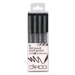 Copic Markers MLBBROAD Multiliner Broad Pigment Based Ink, 4