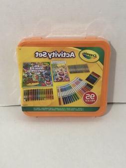 New 2019 Kids 95pc CRAYOLA Non-Toxic Kids ACTIVITY SET Crayo