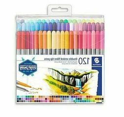 ~NEW~ Staedtler 3200, 120 double ended fibre-tip Pen Marker