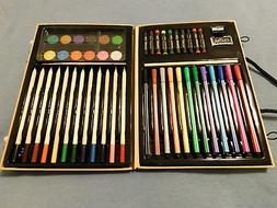 NEW BigArt Set Colored PencilsFine-Point Markers Crayons Oil