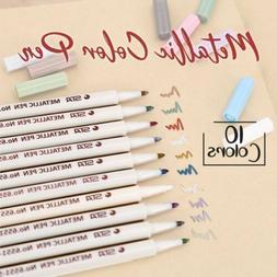New Colorful Waterproof Permanent Paint Marker Pen Album DIY