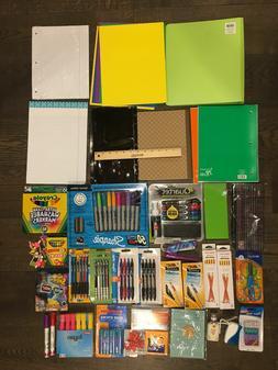 NEW! LOT of SCHOOL OFFICE SUPPLIES Pens Marker Pencils Highl