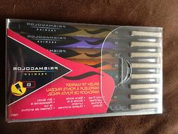 NEW Prismacolor Premier Illustration Markers Brush Tip Set 8