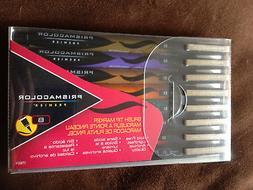NEW Prismacolor Premier Illustration Markers Brush Tip Set 8