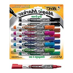 Low Odor & Bold Writing Pen Style Dry Erase Marker, Bullet T