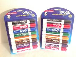 EXPO 80678  Low-Odor Dry Erase Markers, Chisel Tip, Assorted