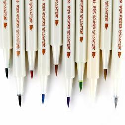 Ohuhu 10pcs Metallic Markers Glitter Paint Pen Calligraphy B