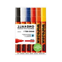 Molotow ONE4ALL 227HS Basic-Set 1  Acrylic pump Graffiti Art