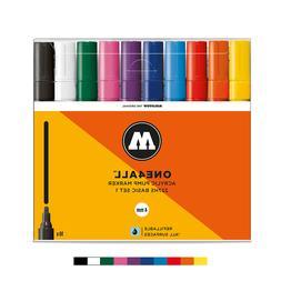 Molotow ONE4ALL 227HS Basic-Set 1  Acrylic pump Graffiti Art