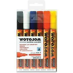 MOLOTOW One4All 4mm Acrylic Markers Basic Set